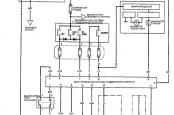 Honda Accord 7 схема круиз контроля