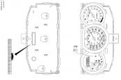 схема и распиновка панели приборов ниссан тиида