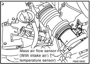 Ошибка P0112, P0113 IAT SENSOR Infiniti FX35/45