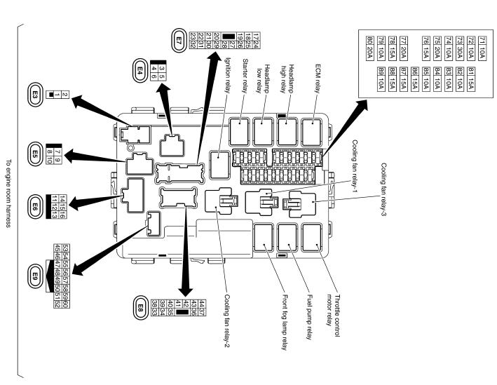 FX35/FX45 схема IPDM