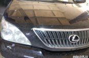 Lexus RX330 расположение всех датчиков