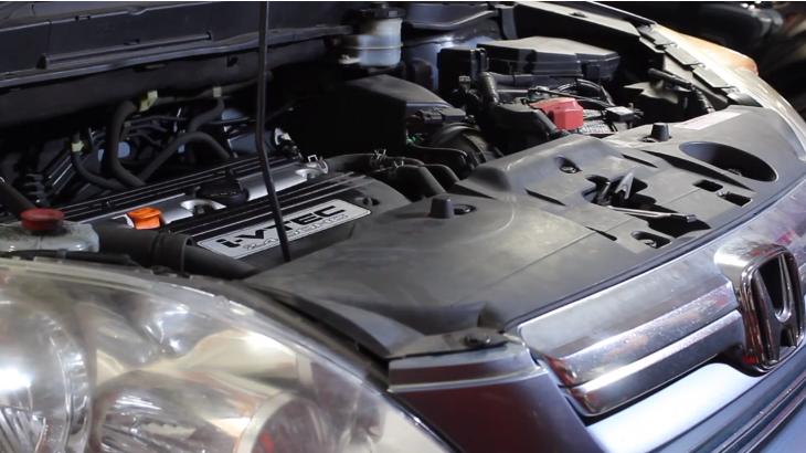 Замена клапана PCV на Honda CRV 2007-2011