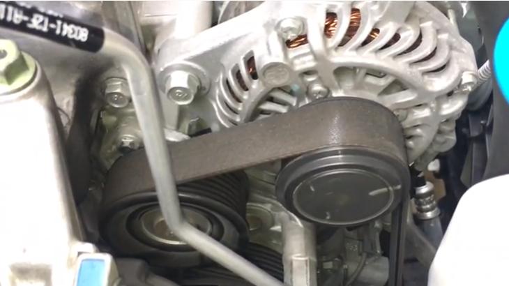 Замена приводного ремня Хонда Аккорд
