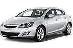 Тип ламп на Opel Astra J / хетчбек (09-…)