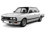 Тип ламп на BMW 5 E28 / седан (81-87)