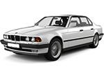 Тип ламп на BMW 7 E32 (86-94)