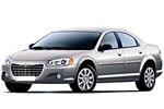 Тип ламп на Chrysler Sebring 2 поколения / седан (01-07)