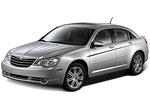 Тип ламп на Chrysler Sebring 3 поколения / седан (06-10)