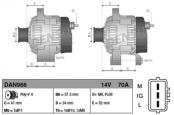 Распиновка и характеристики генератора Toyota Yaris