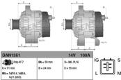 Распиновка  и характеристики генераторов Toyota Auris
