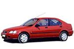 Тип ламп на Honda Civic 6 поколения / хетчбек, 5 дв. (94-01)