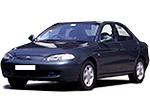 Тип ламп на Hyundai Elantra 2 поколения / седан (95-00)