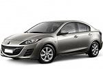 Тип ламп на Mazda 3 2 поколения / седан (08-14)