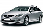 Тип ламп на Mazda 6 2 поколения / универсал (07-13)
