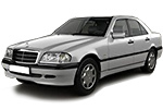 Тип ламп на Mercedes-Benz C-Class W202 / седан (93-00)