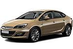 Тип ламп на Opel Astra J / седан (12-...)