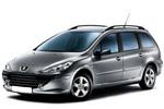 Тип ламп на Peugeot 307 Break / универсал (02-09)