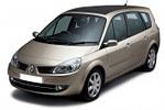 Тип ламп на Renault Scenic 2 поколения / 7 мест (04-09)