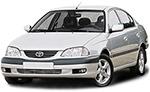 Какие лампы применяются на Toyota Avensis - тип всех ламп