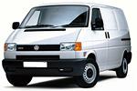 Какие лампы применяются на Volkswagen Transporter - тип всех ламп