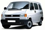 Тип ламп на Volkswagen Transporter 4 поколения / минивэн (90-03)