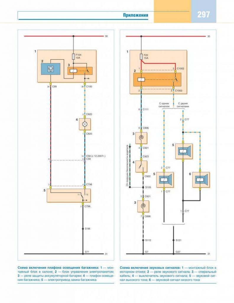 схема сигнала форд фокус 2