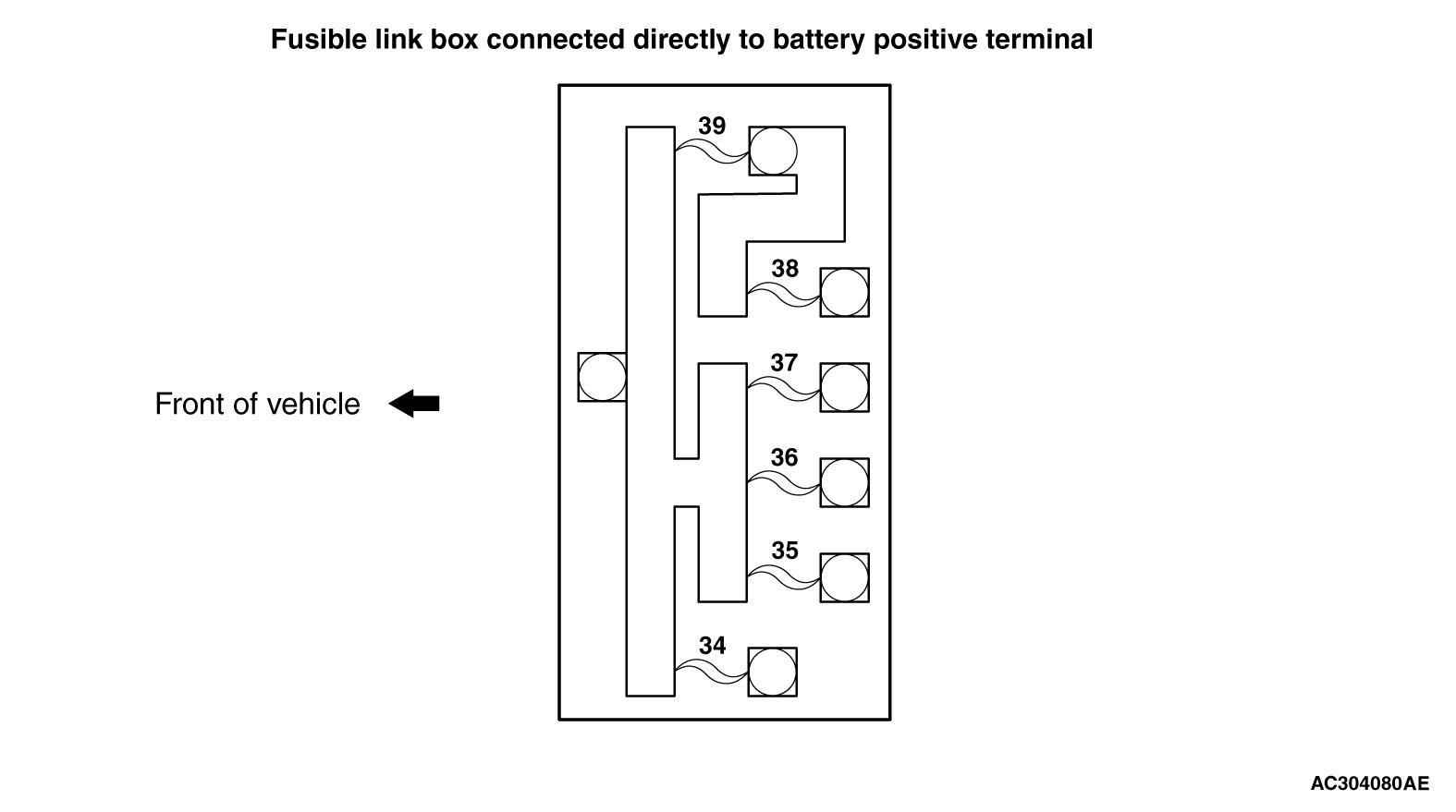 mmc аутлендер xl электросхема CENTRALIZED JUNCTION