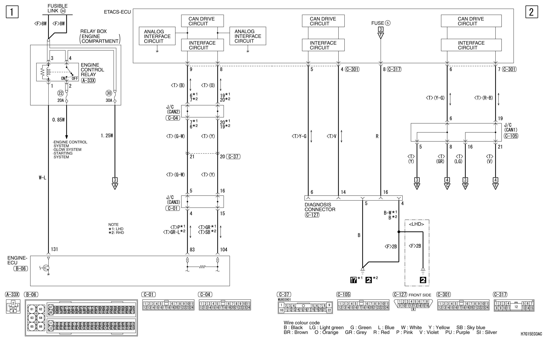 mmc аутлендер xl электросхема IMMOBILIZER SYSTEM
