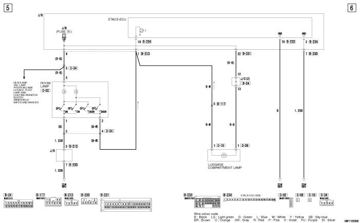 mmc colt электросхемы