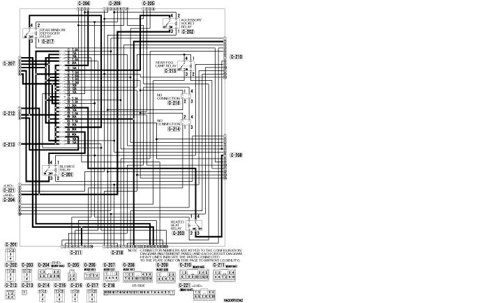 MMC L200 2006 - 20015 IV поколения электросхемы