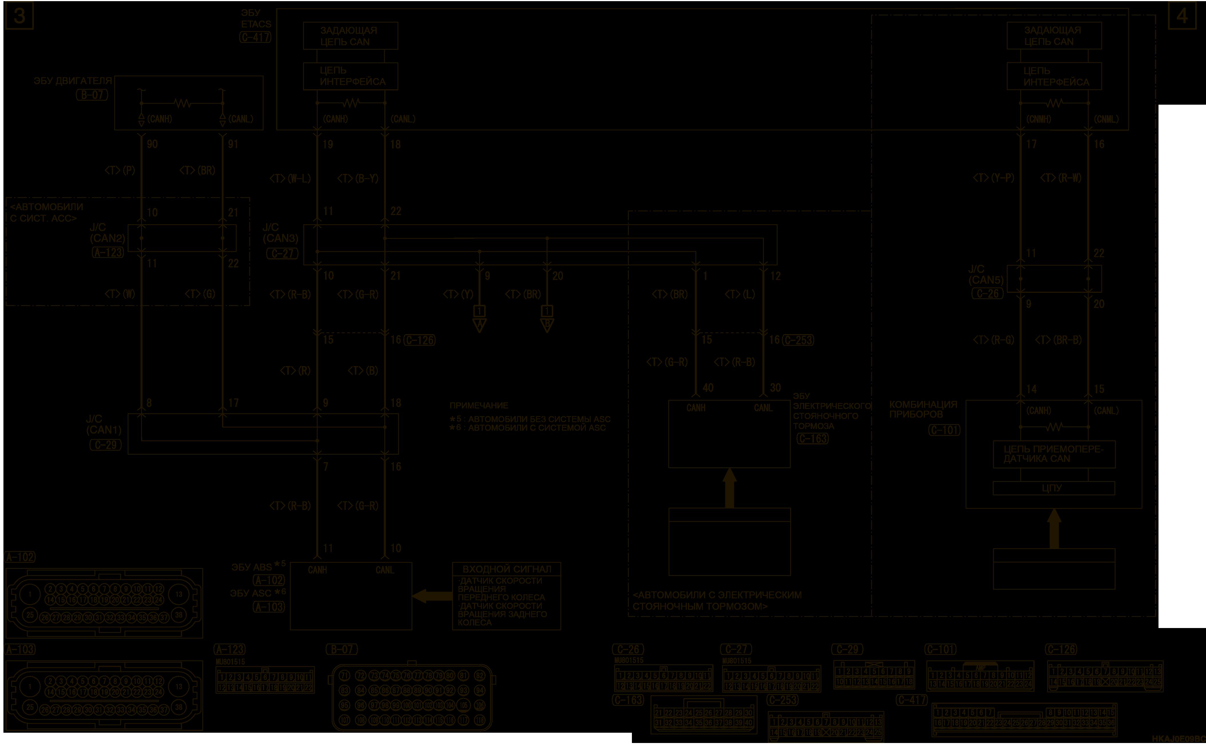 mmc аутлендер 3 2019 электросхемаДНЕВНЫЕ ХОДОВЫЕ ОГНИ (DRL) ЛЕВОСТОРОННЕЕ УПРАВЛЕНИЕ