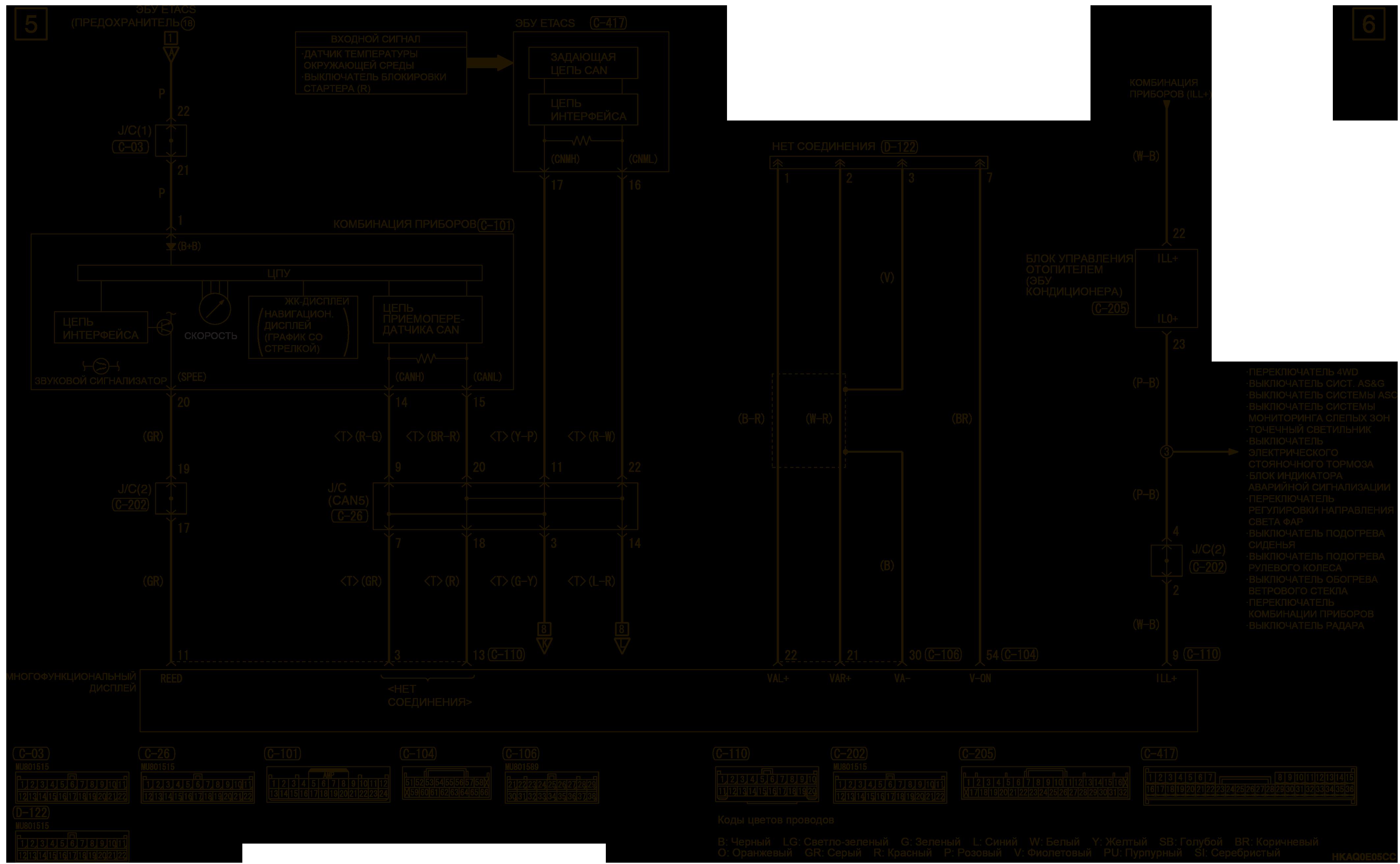 mmc аутлендер 3 2019 электросхемаMMCS Справа
