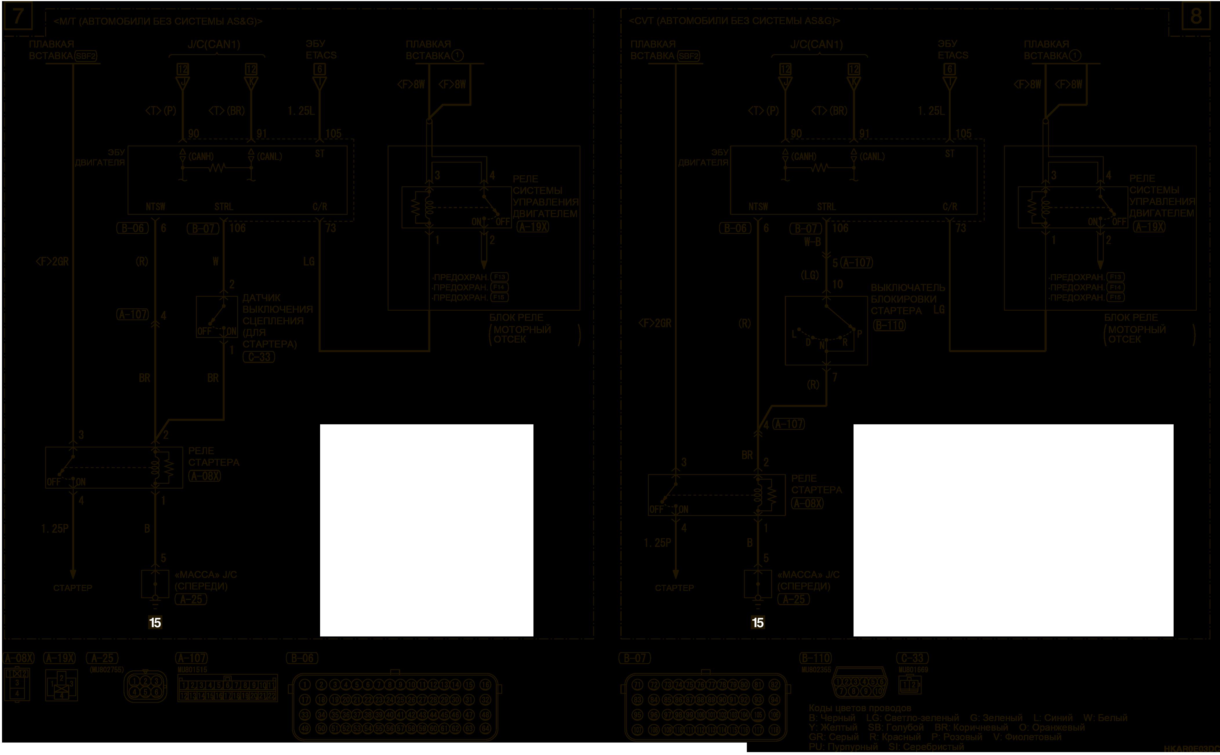 mmc аутлендер 3 2019 электросхемаСИСТЕМА ЗАПУСКА ДВИГАТЕЛЯ ОДНИМ КАСАНИЕМ (OSS) ЛЕВОСТОРОННЕЕ УПРАВЛЕНИЕ