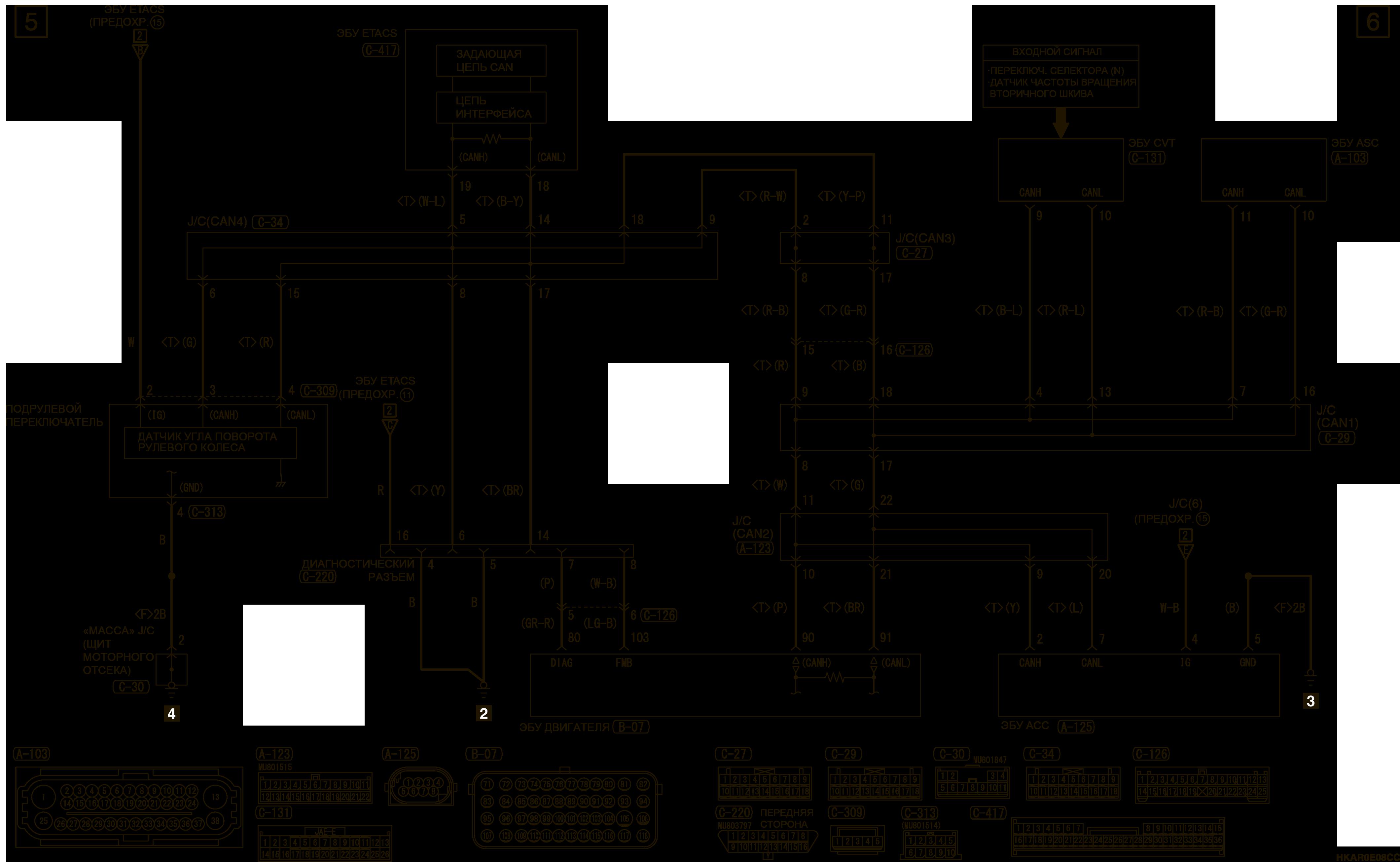mmc аутлендер 3 2019 электросхемаСИСТЕМА АДАПТИВНОГО КРУИЗ-КОНТРОЛЯ (ACC) ПРАВОСТОРОННЕЕ УПРАВЛЕНИЕ