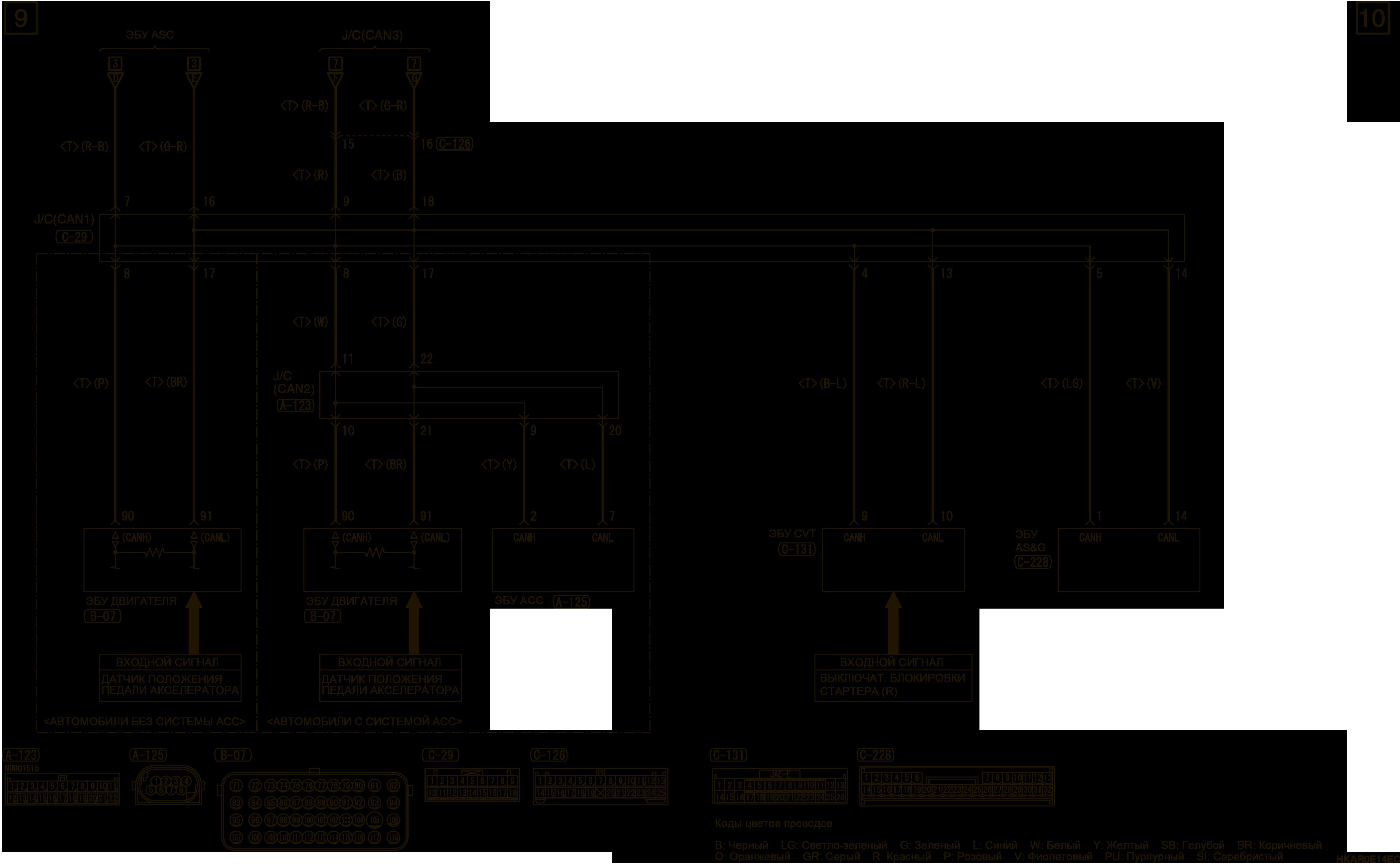 mmc аутлендер 3 2019 электросхемаСИСТЕМА ДИНАМИЧЕСКОЙ СТАБИЛИЗАЦИИ (ASC) И СИСТЕМА ПОМОЩИ ПРИ ТРОГАНИИ НА ПОДЪЕМЕ (HSA) ЛЕВОСТОРОННЕЕ УПРАВЛЕНИЕ