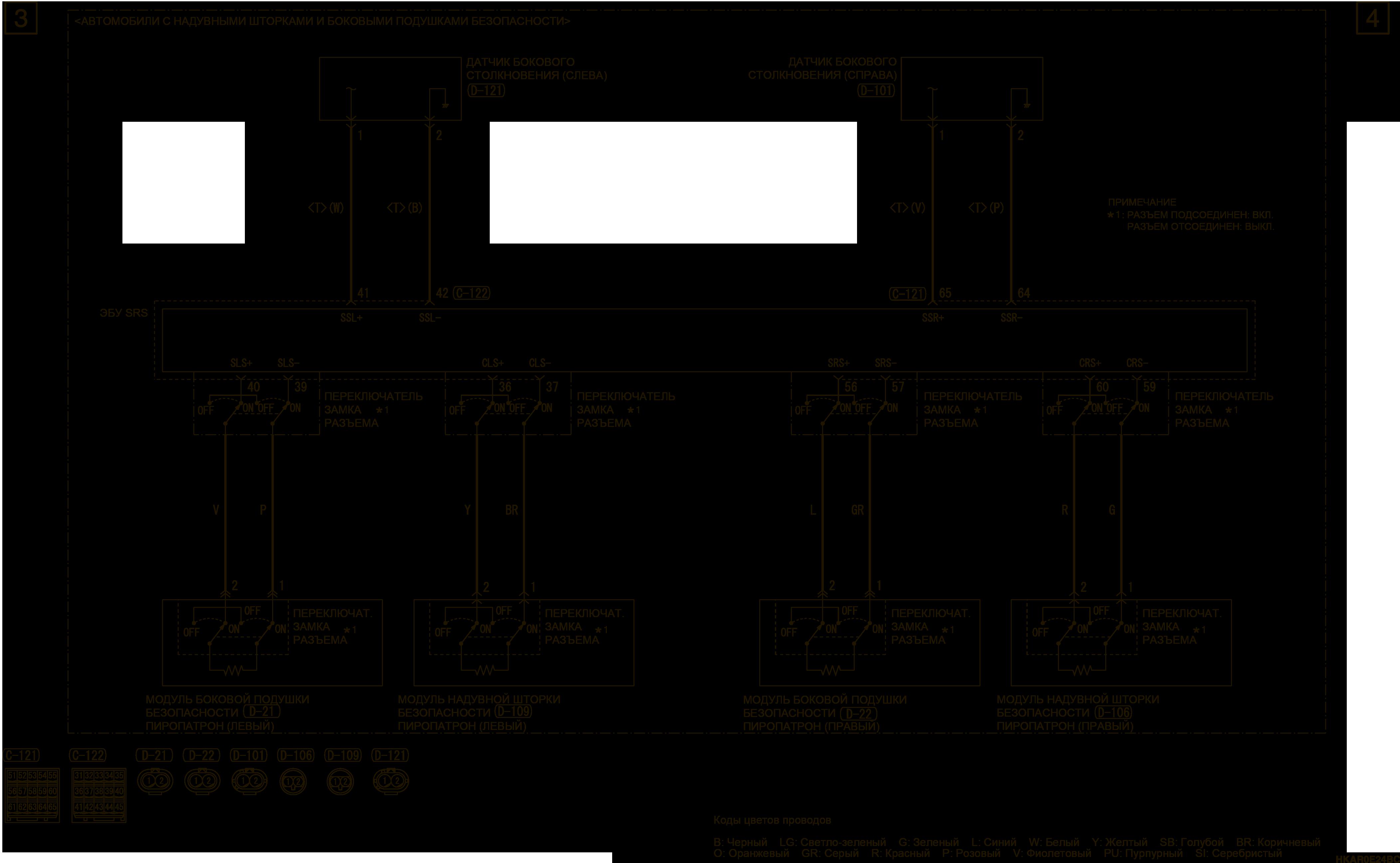 mmc аутлендер 3 2019 электросхемаSRS Справа