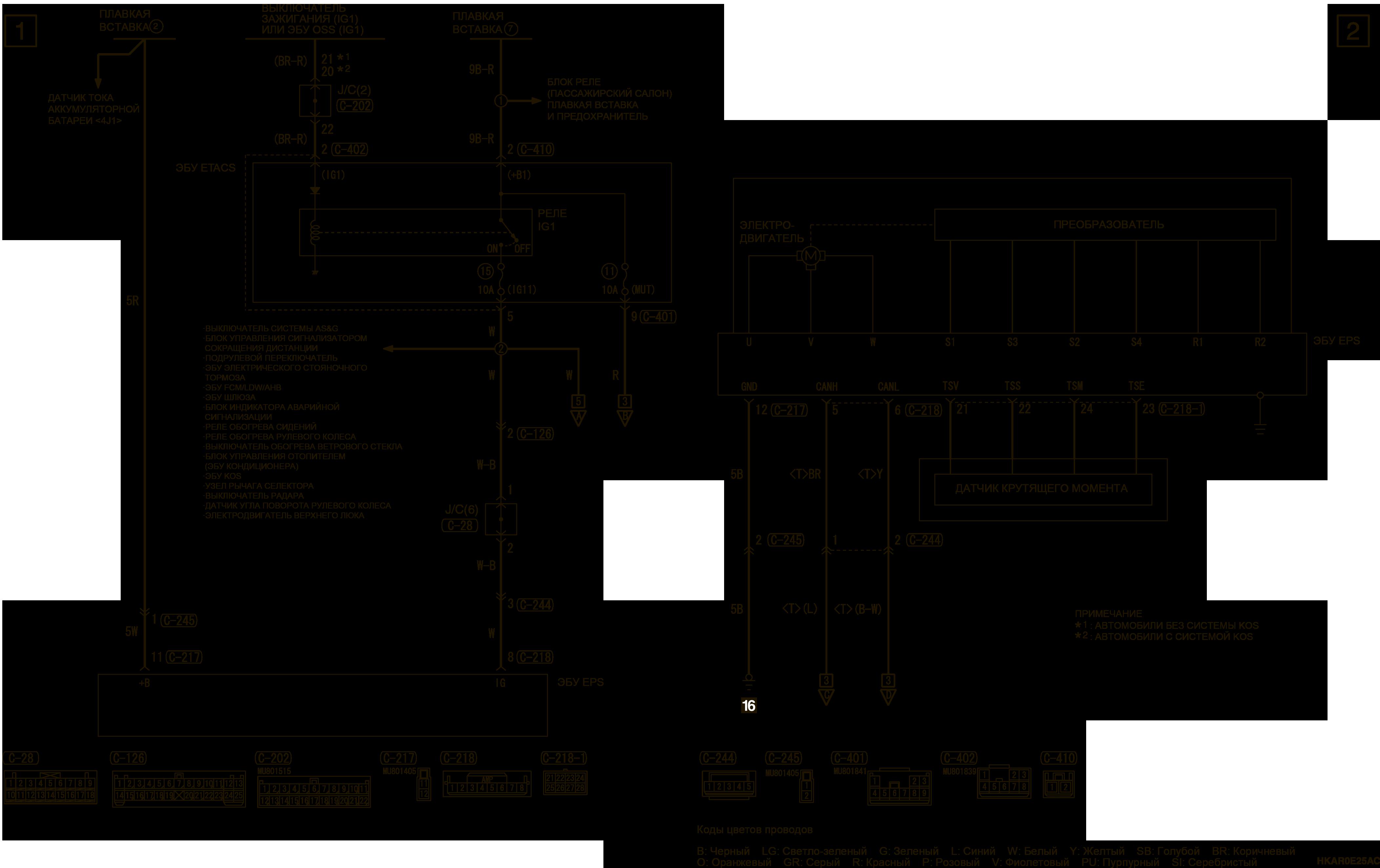 mmc аутлендер 3 2019 электросхемаЭЛЕКТРИЧЕСКИЙ РУЛЕВОЙ УСИЛИТЕЛЬ ЛЕВАЯ СТОРОНА