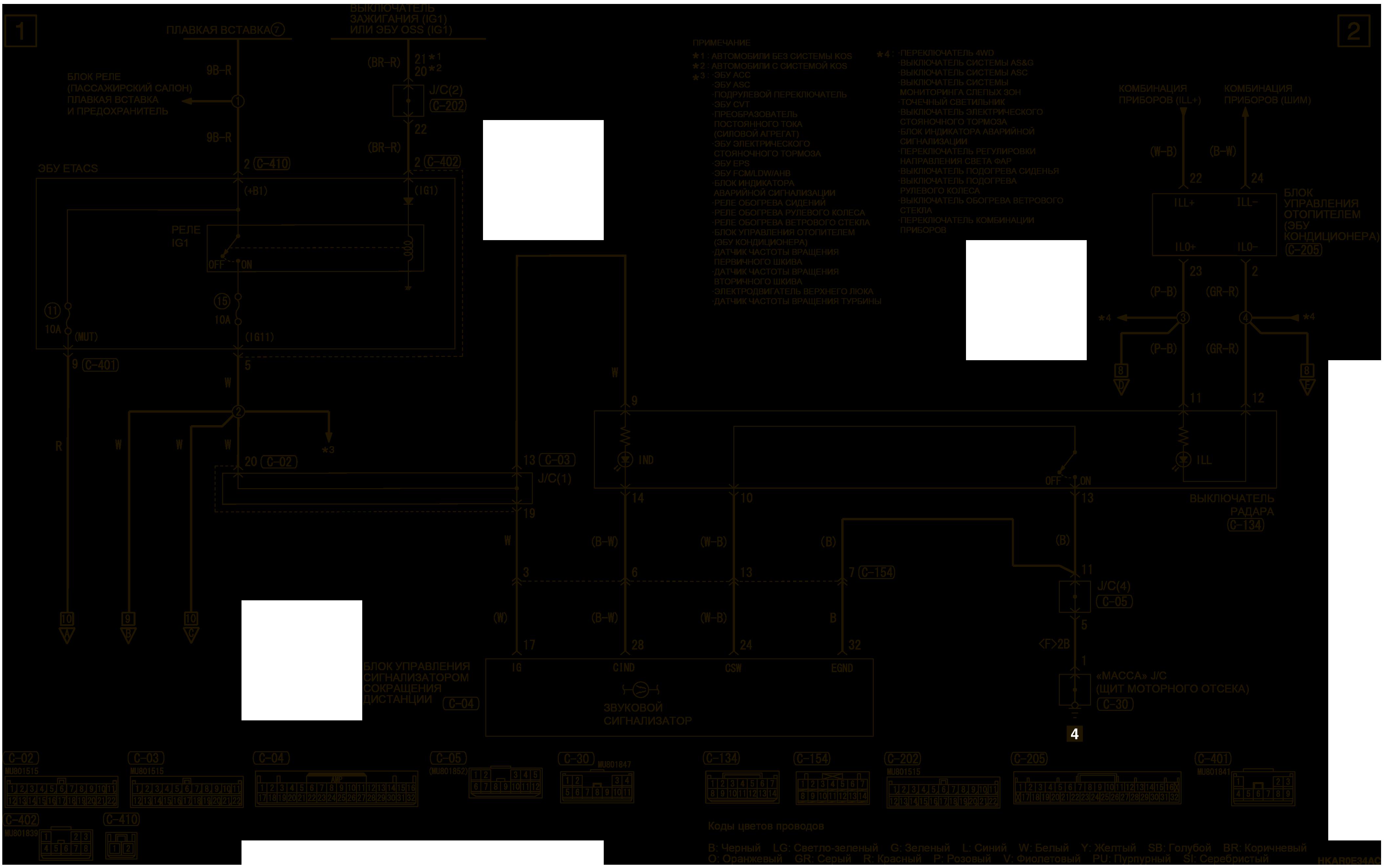 mmc аутлендер 3 2019 электросхемаСИСТЕМА ПРЕДОТВРАЩЕНИЯ СТОЛКНОВЕНИЯ НА ПАРКОВКЕ И УГЛОВЫЕ ДАТЧИКИ ПРАВОСТОРОННЕЕ УПРАВЛЕНИЕ