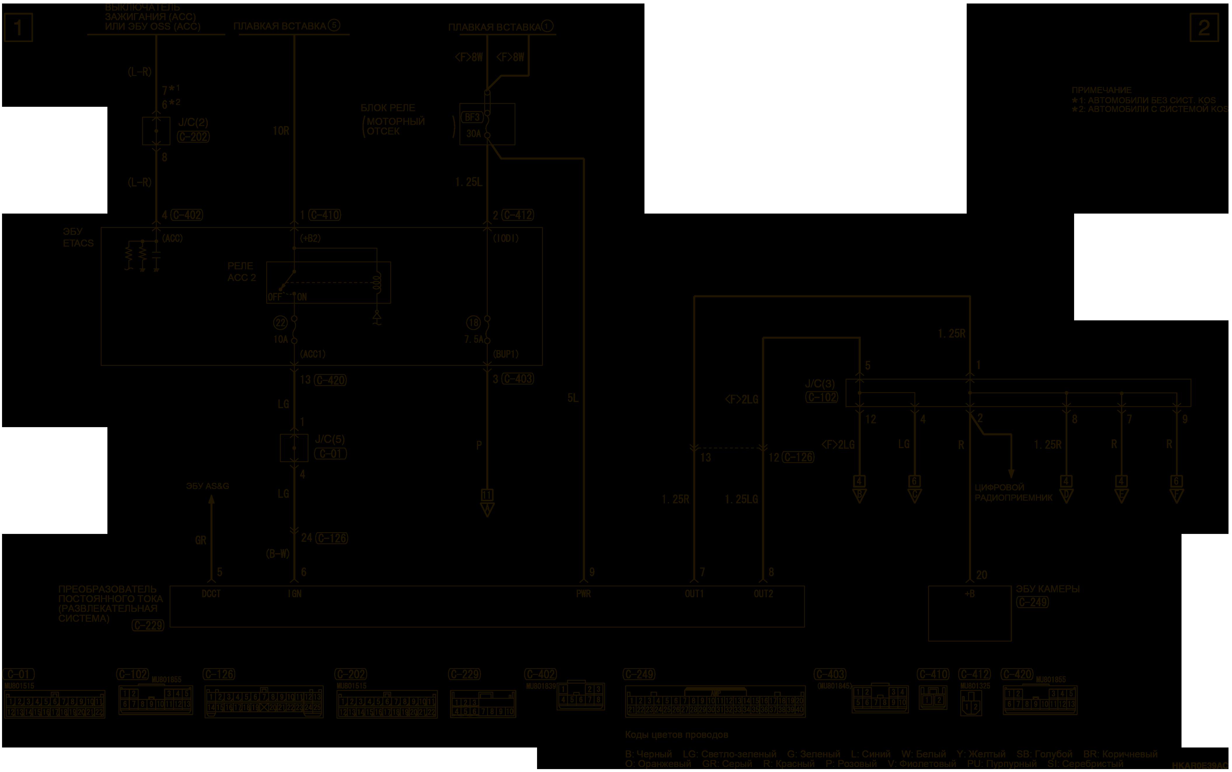 mmc аутлендер 3 2019 электросхемаСИСТЕМА КРУГОВОГО ОБЗОРА ПРАВОСТОРОННЕЕ УПРАВЛЕНИЕ