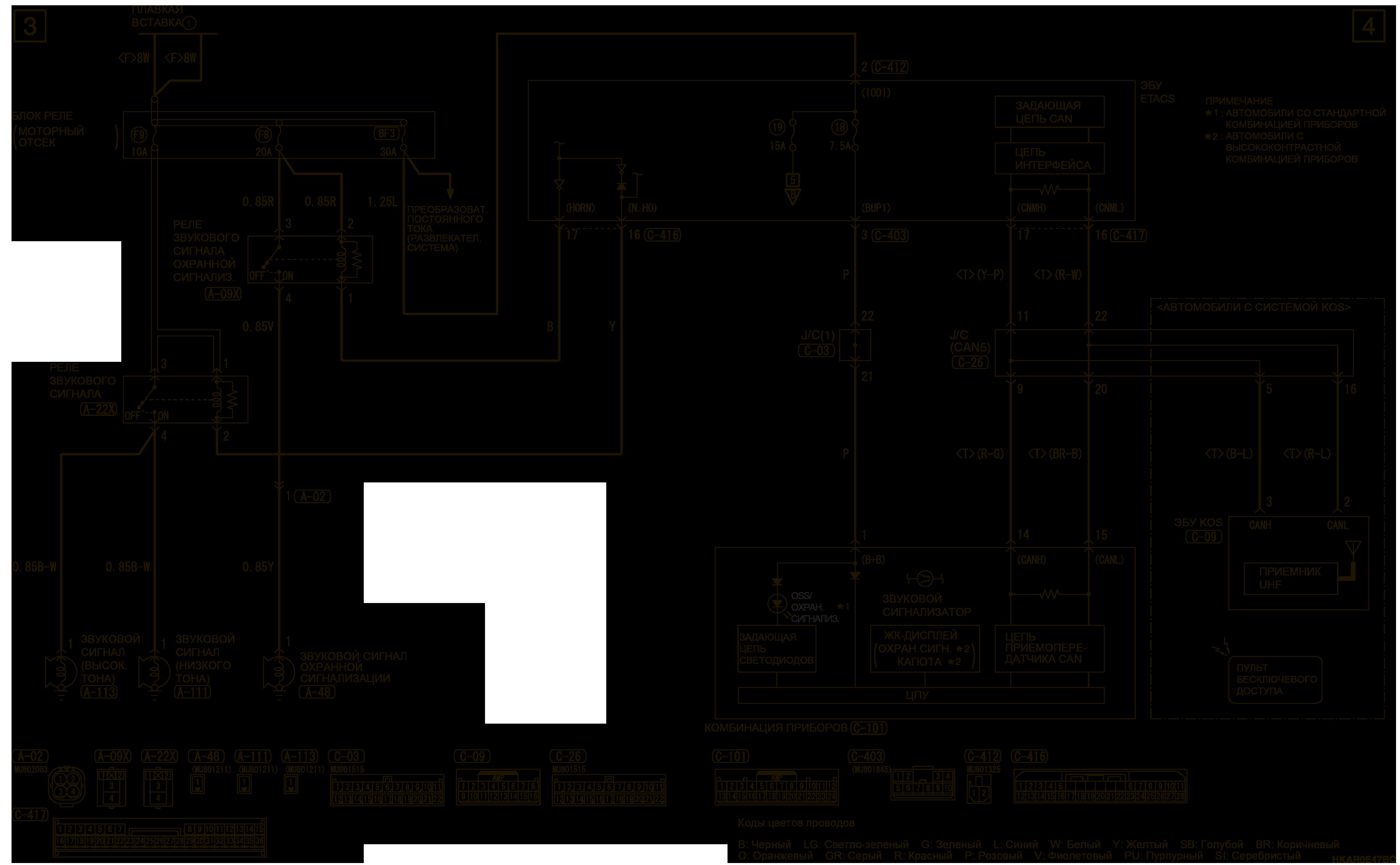 mmc аутлендер 3 2019 электросхемаОХРАННАЯ СИГНАЛИЗАЦИЯ АВТОМОБИЛИ БЕЗ ДАТЧИКА ОХРАННОЙ СИГНАЛИЗАЦИИ