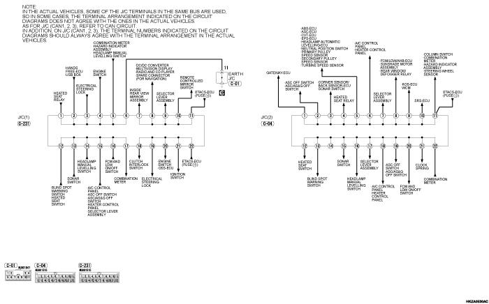 mmc asx 2019 электросхемы pdf