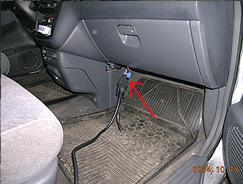 Диагностический разъём Honda Shuttle (1996-1999 гг.)