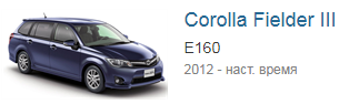Блоки управления двигателем Toyota Corolla Fielder 3