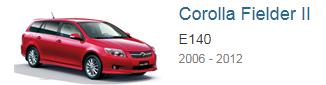 Блоки управления двигателем Toyota Corolla Fielder 2