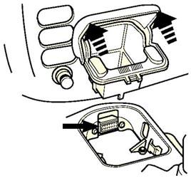 Диагностический разъём Ford Galaxy