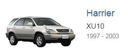 Блоки управления двигателем Toyota Harrier