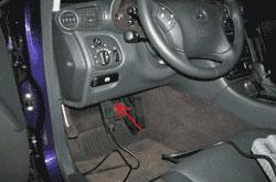 Диагностический разъём Mercedes C-класс W203