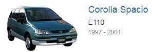 Блоки управления двигателем Toyota Corolla Spasio