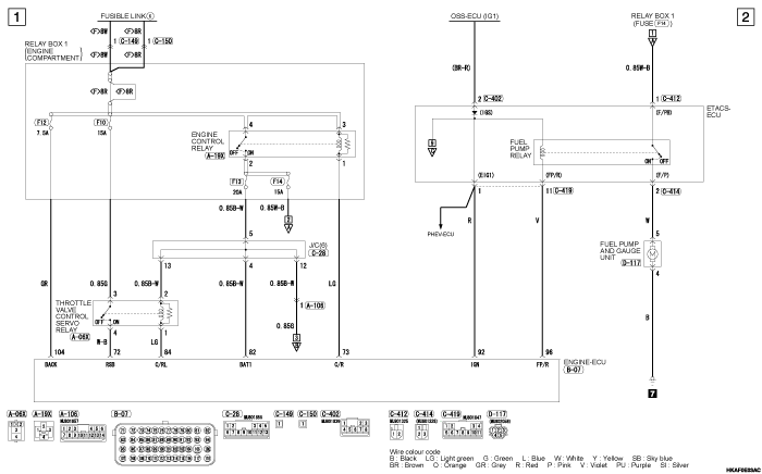 mmc outlander phev ENGINE  CONTROL SYSTEM