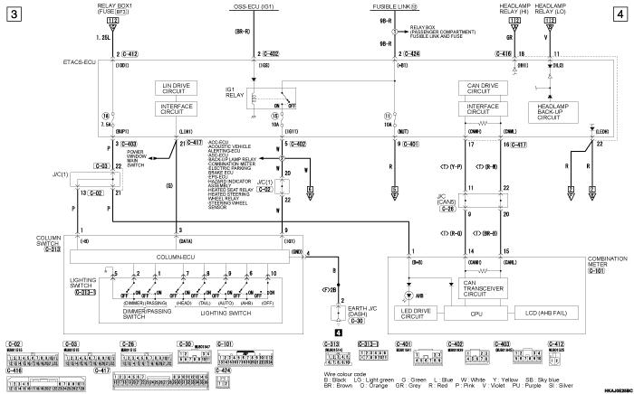 mmc outlander phev фары AUTOMATIC  HIGH BEAM SYSTEM левый руль